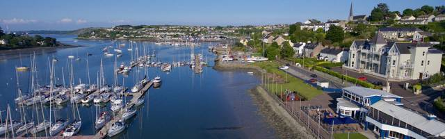 The Royal Cork's marina in Crosshaven is a key element of the Cool Route strategy