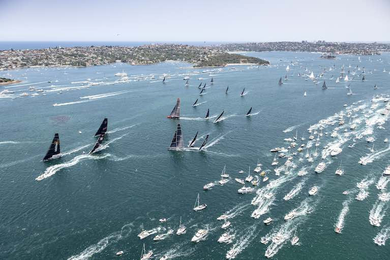 100-Strong Fleet to Set Sail in 2020 Sydney Hobart Yacht Race
