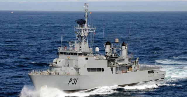 Two ships, the LÉ Eithne helicopter patrol vessel (above) which has been in service since 1984, and the LÉ Orla coastal patrol vessel in service since 1988, have been tied up.