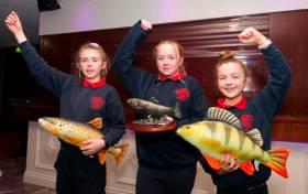 Some of the winning pupils from Doora National School in Ennis, Co Clare