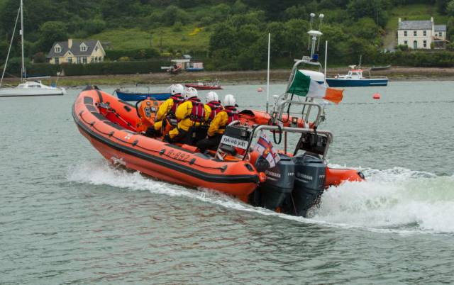 File image of Crosshaven RNLI's inshore lifeboat John and Janet