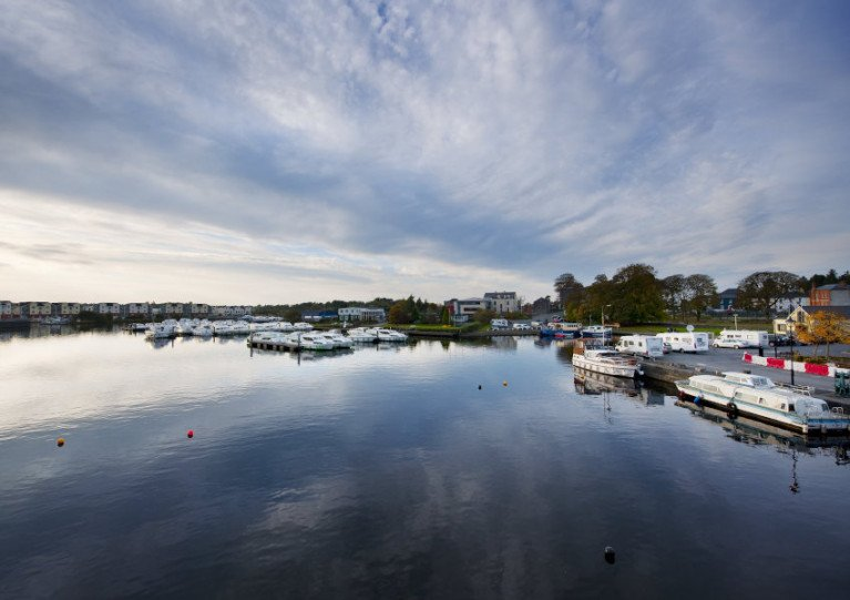File image of boats moored at Carrick-on-Shannon