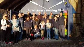 St. Michael's dedicated club members that helped with fundraising and refurbishment