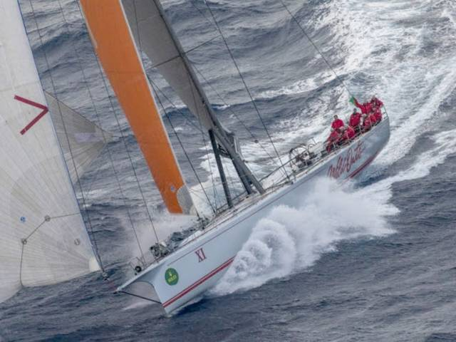 Wild Oats XI had recovered from a slow start to lead the race and was seeking to extend her record of eight line honours victories. It is the second year in a row that the Mark Richards-skippered yacht has failed to finish, further proof of the punishing and unpredictable nature of this 628-nm offshore classic.