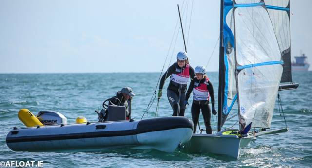 Rio Olympic Silver Medalist Annalise Murphy (pictured above centre) with crew Katie Tingle and coach Rory Fitzpatrick in her new 49erFX dinghy can look forward to a trebling of investment for elite athletes