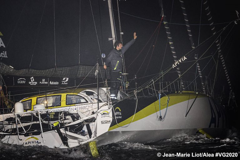 Charlie Dalin First To Finish The Ninth Vendée Globe