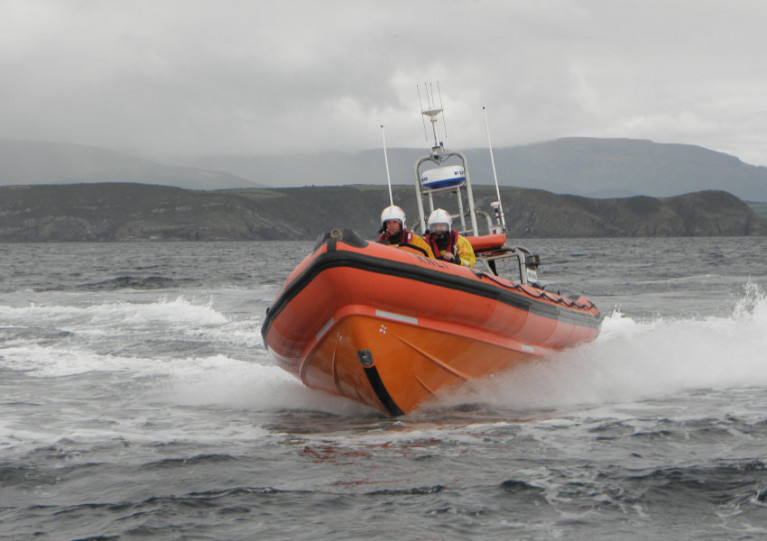 File image of Youghal RNLI's Atlantic 85 inshore lifeboat