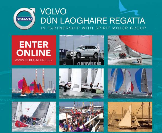 Volvo Dun Laoghaire Regatta's Notice of Race and Entry form is downloadable below as a PDF file