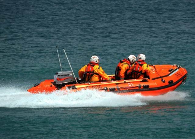 Wicklow RNLI's inshore lifeboat