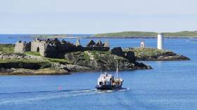 The Cromwellian fort at Inishbofin's harbour
