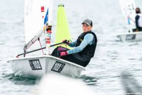 Aoife Hopkins of Howth competing in the World Championships in Japan
