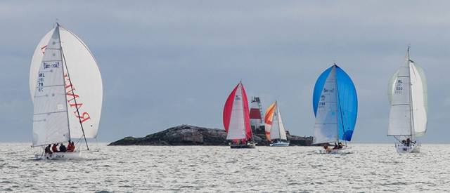 An INSS 1720 competes in the 2015 DBSC Turkey Shoot on Dublin Bay