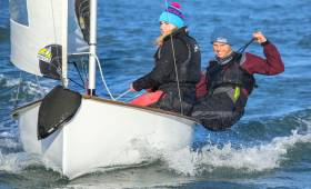 Action from the Royal St. George Yacht Club hosted  IDRA /ITRA 70th Anniversary Team Racing National Championships