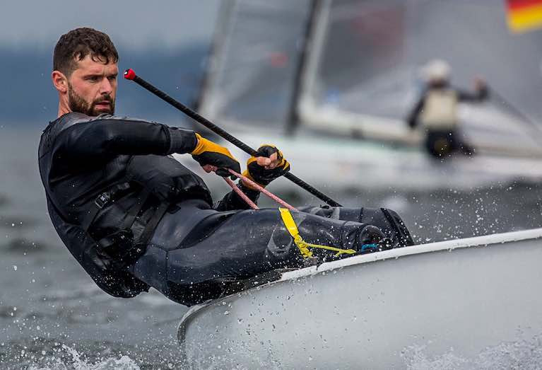 Donaghadee Sailing Club's Oisin McClelland Secures Top 25 position at European Finn Championships