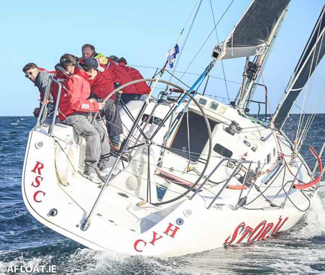 Pat Kelly's Storm was runner-up in the RC35 class at Kip Regatta
