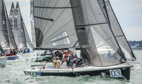 A fleet of eight SB20s – racing without gennakers – will be used to decide the All Ireland Sailing Title this weekend on Lough Ree