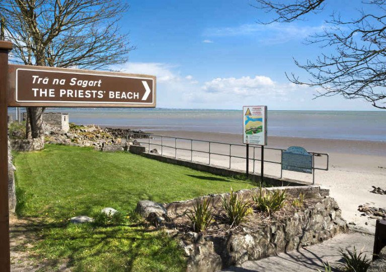The Priests' Beach in Blackrock, Co Louth