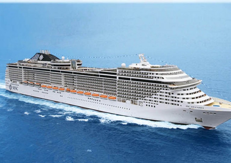 MSC Splendida will no longer call at two ports in Italy on 28 and 29 March