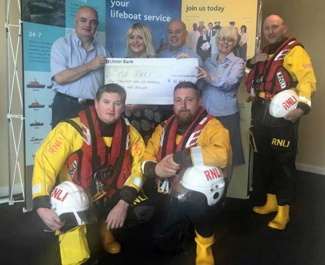 RNLI Receives €10,600 Following Charity Partnership with Swords Pavilions