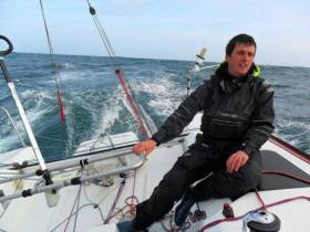Man alone – Tom Dolan racing the Atlantic. He'll be telling all in Westport on January 25th