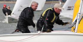 Flying Fifteen Pair David Gorman and Chris Doorly were Afloat.ie Sailors Of The Month for September 2015