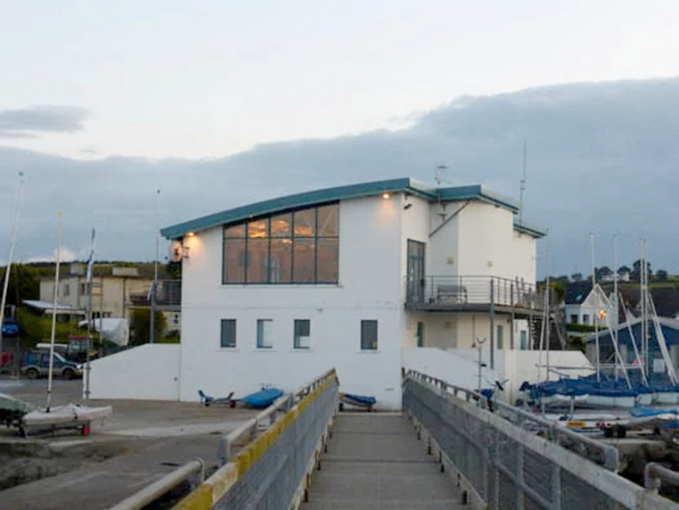 File image of Strangford Lough Yacht Club in Whiterock, Co Down