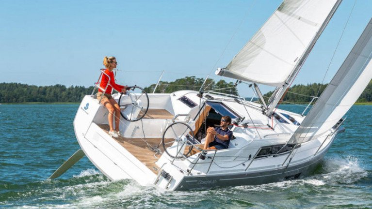 Beneteau's Oceanis 30.1 was named European Yacht of the Year in the Family Cruiser category