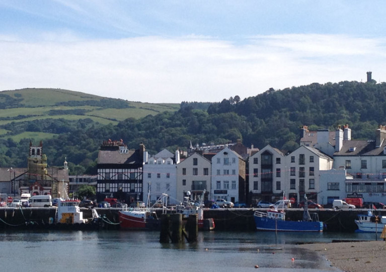 File image of the quayside at Ramsey on the Isle of Man