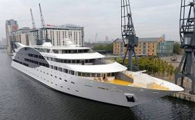 As Dublin City Council debates floatels, a five star cruise ship such as the SunBorn flotel in Canary Wharf, London is envisaged for Dun Laoghaire Harbour