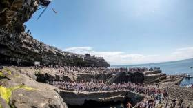 The Red Bull Cliff Diving World Series' most recent Irish visit was in June 2014