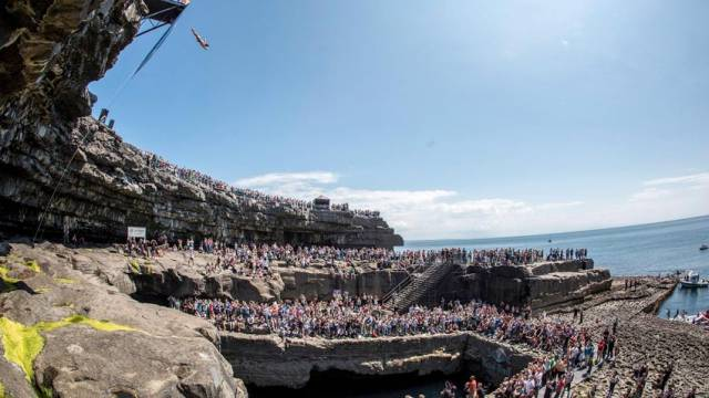 Cliff Diving World Series Returns To Aran Islands In 2017