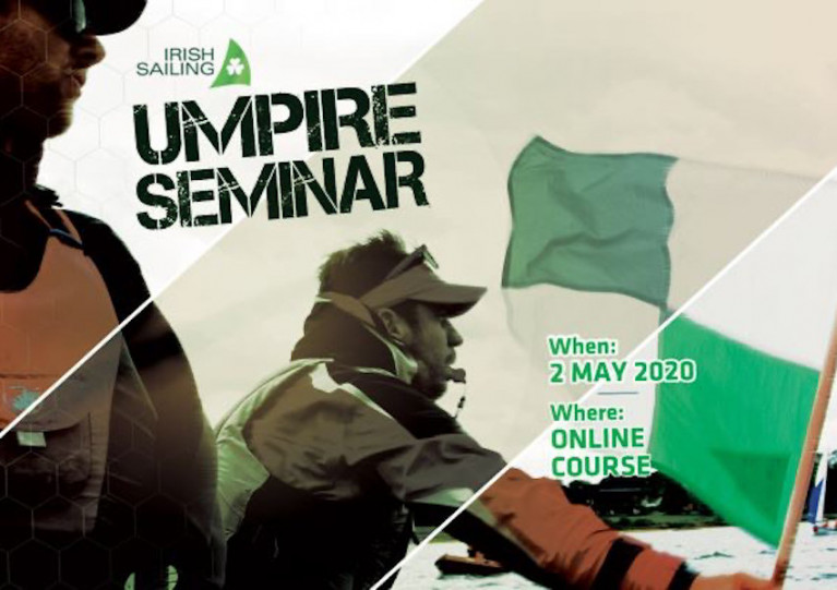 Book Now For Irish Sailing's Umpire Webinar This Saturday
