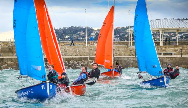 Dublin University Sailing Club hosted the first of the four League events with the goal to grow team racing in the Leinster region