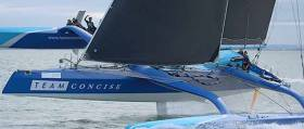Round The Island Race Record Set by Multihull MOD70 Concise 10, Beating Phaedo3 By One Minute