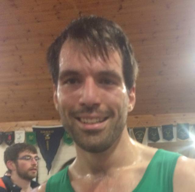Neptune Man Breaks Six Minutes at Indoor Rowing