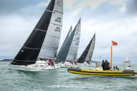 The largest J109 fleet is in Dun Laoghaire with 13 boats