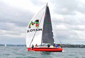 The W1da off Roches Point during this week's Cork Week