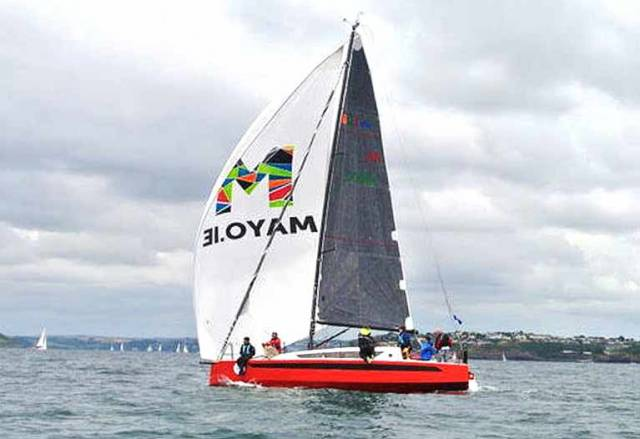 Electric Yacht 'W1Da' Made in Achill is Sailing at Cork Week