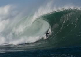 A still from upcoming surfing documentary Made In Ireland
