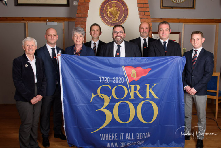 Morehead Elected Royal Cork Yacht Club Admiral in Tricentenary Year