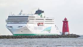 The delivery of Irish Ferries' WB Yeats ferry was delayed last year
