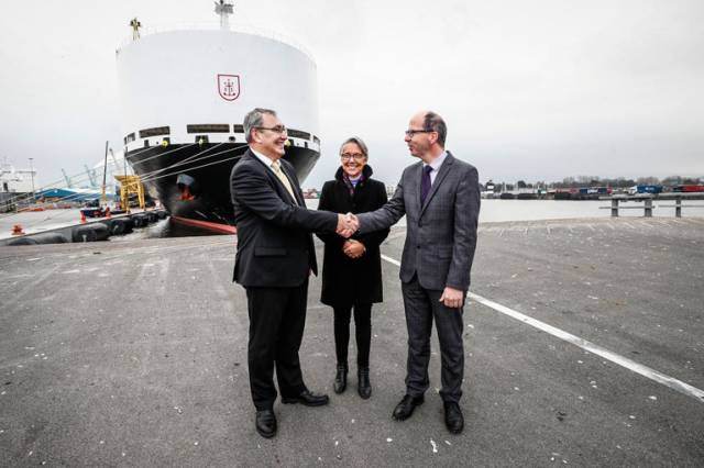 French Minister for Transport Elisabeth Borne in Dublin Witnesses French & Irish Ports MoU