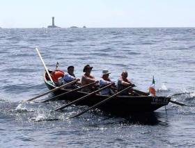 "Six Irish currachs are heading to Santander next week for a trial version of ""Navigatio Santander"""