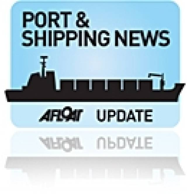 Shipping Scene Highlights Busy Port of Drogheda