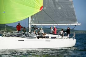 Denis Murphy and crew on Nieulargo were the winners of RCYC's first pop up race. Scroll down for more photos