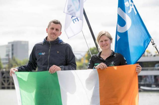 Two Irish solo racers in the Figaro - Tom Dolan of County Meath and Joan Mulloy of County Mayo are taking on the might and depth of the French Figaro race