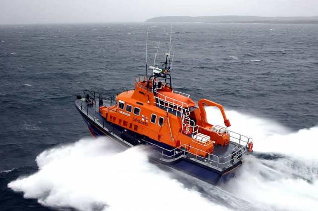 Aran Islands RNLI offshore lifeboat