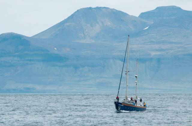 The Celtic Mist spent four weeks surveying Iceland's coast
