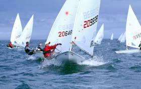 Ballyholme Yacht Club hosts the 2019 Irish Laser National Championships