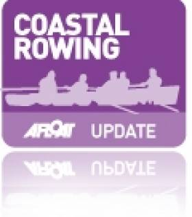 Keohane, Dukarska and Clavin in A Finals of World Coastal Rowing Championships